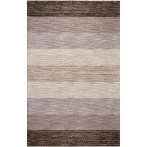BASHIAN Contempo Collection Stripes Grey Multi 7 ft. 6 in. x 9 ft. 6 in. Area Rug S176 MULTI 8X10 SH108
