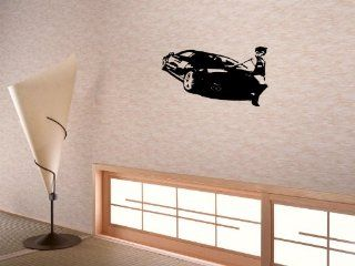 Wall Decor Sticker Mural Decal Baby KID Room for boys Car Audi 551_r8