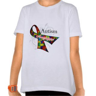 Autism Awareness Ribbon T Shirt