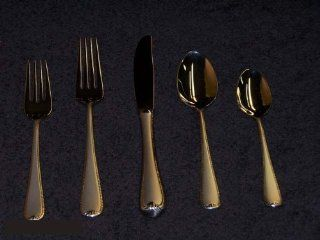 Gorham Flatware Ribbon Edge Frosted 67 Pc. Set W/ Chest Kitchen & Dining