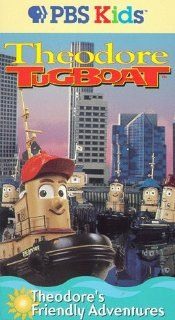 Theodore Tugboat   Theodore's Friendly Adventures [VHS] Denny Doherty, Robert D. Cardona, Andrew Cochran Movies & TV