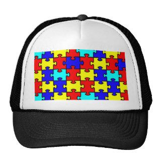 Autism Awareness Mesh Hat