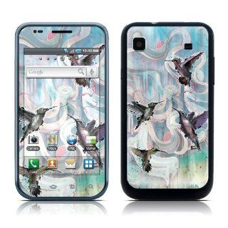 Hummingbirds Design Protective Skin Decal Sticker for Samsung Vibrant SGH T959 Cell Phone Cell Phones & Accessories