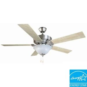 Design House Ironwood 52 in. Satin Nickel Ceiling Fan 154070