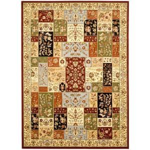 Safavieh Lyndhurst Assorted/Ivory 4 ft. x 6 ft. Area Rug LNH318A 4