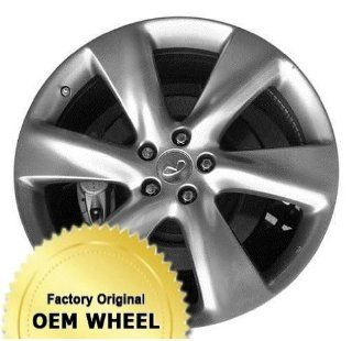 INFINITI FX50 21x9.5 6 SPOKE Factory Oem Wheel Rim  HYPER SILVER   Remanufactured Automotive