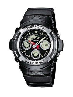 Casio Aw 590 1Aer Mens G Shock Chronograph Sports Watch Watches