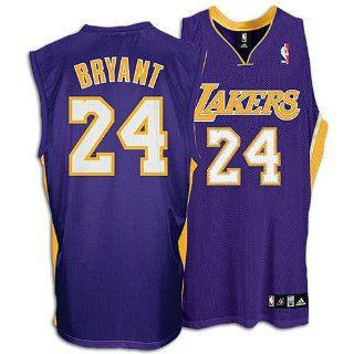 Kobe Bryant Purple adidas NBA Authentic Los Angeles Lakers Jersey  Athletic Jerseys  Sports & Outdoors