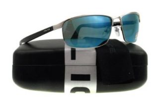 Police 8646 579B Silver and Black 8646 Oval Sunglasses Lens Category 3 Lens Mir Police Shoes