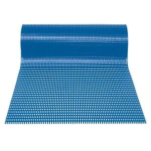 Mats Inc. Airpath Light Blue 2 ft. x 30 ft. PVC Anti Fatigue and Safety Runner HAR2X30BLU