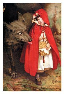 Buy Enlarge 0 587 05071 3P12x18 Little Red Riding Hood  Paper Size P12x18   Prints