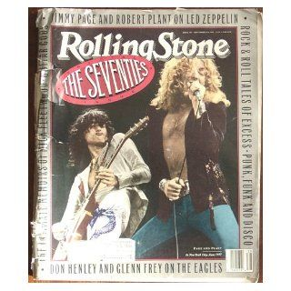 Rolling Stone Magazine #587 The Seventies Special Issue (September, 1990) (Led Zeppelin cover) Led Zeppelin, Eagles Books