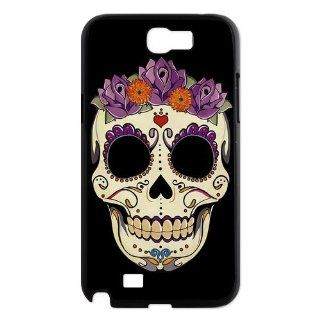 Designyourown Case Skull Samsung Galaxy Note 2 Case Samsung Galaxy Note 2 N7100 Cover Case SKUnote2 590 Cell Phones & Accessories