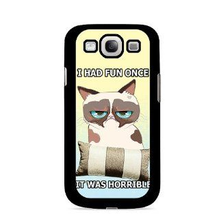 Cellycase   GRUMPY CAT Cell Phone Case Compatible with Samsung Galaxy S3 Cell Phones & Accessories