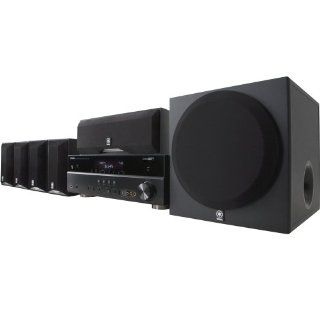 Yamaha YHT 595BL Complete 5.1 Channel Home Theater System (Discontinued by Manufacturer) Electronics