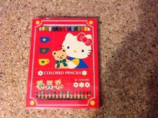 Hello Kitty Colored Pencils Set 16 Colors (Not Sold in Stores)  Other Products
