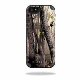 MightySkins Protective Vinyl Skin Decal Cover for Mophie Juice Pack Air iPhone 5 Apple iPhone 5 Battery Case Sticker Skins Tree Camo Cell Phones & Accessories