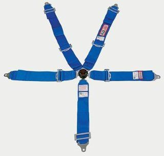 RJS Racing 30298 19 23 3 Blue Quick Release Style 5 Point Harness System Automotive