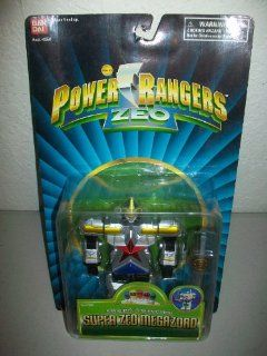 "Power Rangers Zeo Bandai 1996 5"" Super Zeo Megazord Zord action figure MOSC MOC Toys & Games"