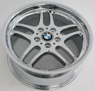 "18"" Wheel Bmw 740i 750i 98 99 00 01 7 Series Style 37 Oem Chrome # 59271 Center Cap Not Included Automotive"