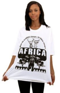 Unisex Gildan White T Shirt   The Drumbeat African Proverb   Available in L Large, XL X Large, 2X and 4X only (4X) at  Men's Clothing store