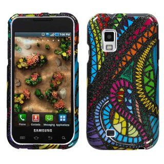 SAMSUNG i500 (Fascinate) Jamaican Fabric (Sparkle) Phone Protector Cover Case Cell Phones & Accessories