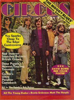 Circus Magazine December 1972 (Yes, Rod Stewart, Deep Purple, Vol. 7) Gerald Rothberg Books