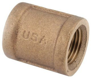 Anderson Metals 738103 12 3/4 Inch Low Lead Coupling, Brass   Pipe Fittings