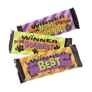 Halloween Award Candy Bar Sleeves   Stickers & Labels & Candy Wrappers & Labels  Grocery & Gourmet Food