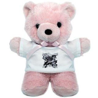 Teddy Bear Pink Unicorn with Wings