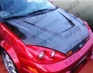 VIS 00 04 Ford Focus ZX3/ZX4 Carbon Fiber Hood INVADER Automotive
