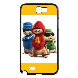 Designyourown Case Chipmunks Samsung Galaxy Note 2 Case Samsung Galaxy Note 2 N7100 Cover Case SKUnote2 633 Cell Phones & Accessories