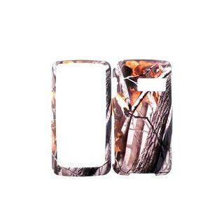 LG RUMOR TOUCH LN510 FALL LEAF CAMO CAMOUFLAGE HUNTER HARD PROTECTOR COVER CASE / SNAP ON PERFECT FIT CASE Cell Phones & Accessories