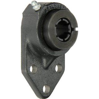 "Sealmaster FB 16TC Standard Duty Flange Bracket, 3 Bolt, Regreasable, Contact Seals, Skwezloc Collar, Cast Iron Housing, 1"" Bore, 4 3/4"" Overall Length, 3/8"" Flange Height, �2 Degrees Misalignment Angle Flange Block Bearings Industrial &am"