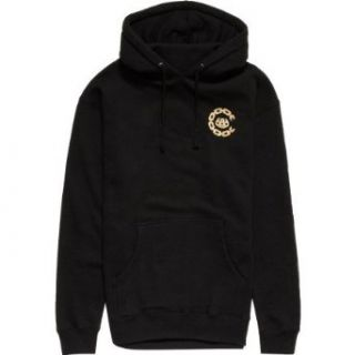 686 LTD Crooks & Castles Chain Pullover Hoodie   Men's Black, M at  Men�s Clothing store Apparel
