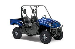 AMR Racing Yamaha Rhino 700 660 450 Diamond Flames   Blue UTV Graphics Kit Automotive