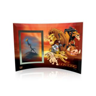 Trend Setters Lion King (Group Collage) Curved Glass Print with Photo