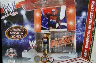 WWE RAW SUPERSTAR ENTRANCE STAGE PLAYSET   MATTEL TOY ACTION FIGURE WRESTLING PLAYSET Toys & Games