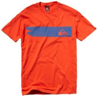 Quiksilver   Mens Oil Slick Mt0 Wr7 T Shirt, Size Small, Color Vintage Red at  Men�s Clothing store