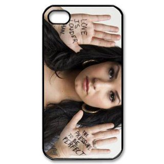 "The Sweet ""Demi Lovato"" Printed for Apple iPhone 4 4s At&t Sprint Verizon hard case fashion Popular plastic durable cover creative gift ultrathin Personalized High Quality by iDesign Studio Cell Phones & Accessories"