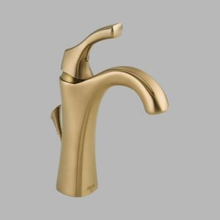 Delta Addison Single Hole Bathroom Faucet with Single Handle and