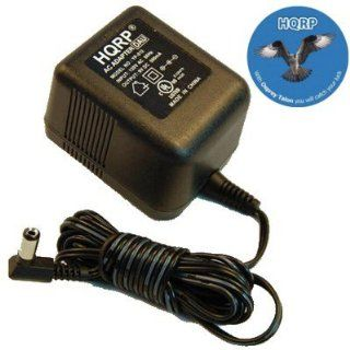 HQRP AC Adapter / Power Supply / Charger compatible with Panasonic PQLV1, PQLV1W, PQLV1Z Replacement plus Euro Plug Adapter Electronics