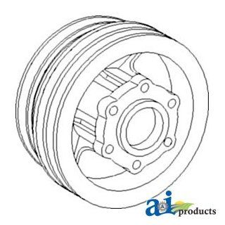 A & I Products Pulley, Engine Fan Drive Replacement for John Deere Part Numbe