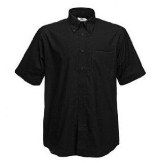 Fruit Of The Loom Mens Short Sleeve Oxford Shirt at  Men�s Clothing store