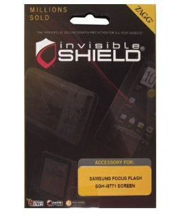 ZAGG SAMSGHI677S invisibleSHIELD for Samsung Focus Flash SGH i677 (Screen)    1 Pack   Retail Packaging   Clear Cell Phones & Accessories