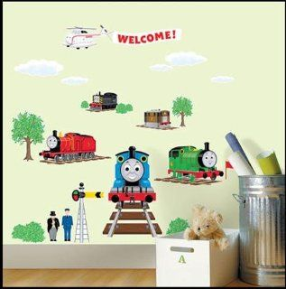 THOMAS AND FRIENDS THE TRAIN Decor Wall Sticker Kids TMS 701   Childrens Wall Decor