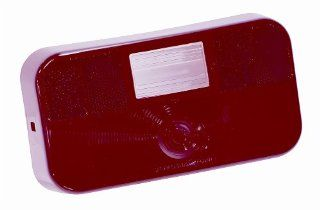 Bargman 34 92 704 Red Tail Light Replacement Lens with Back Up Lens for #92 Series Lamps Automotive