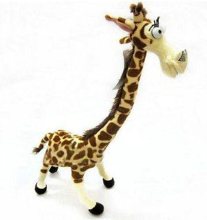 "14"" Cute Long Neck Gerry Giraffe (cousin of Melman from Madagascar 3) Bendable Soft Plush for Kids and Baby Gifts  Baby Plush Toys  Baby"