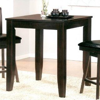 Canterbury Dylan Counter Height Table in Cappuccino   Dining Tables