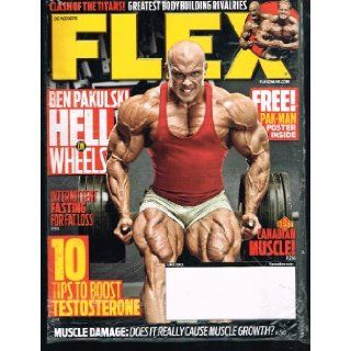 FLEX Magazine (June 2012) Ben Pakulski HELL on WHEELS Books